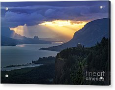 Heavenly Sunrise Acrylic Print