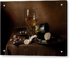 Acrylic Print featuring the photograph Heda - Still Life 1632 by Levin Rodriguez