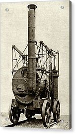 Hedley's Puffing Billy Acrylic Print by Cci Archives