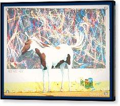 Hee Hee Hee 2 Framed Acrylic Print