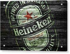 Heineken Acrylic Print