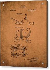 Helmet Skate 1921 Long Acrylic Print