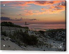 Henlopen Sunset Acrylic Print