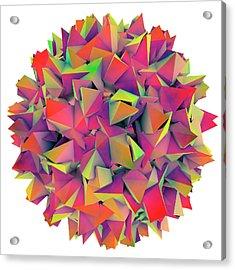 Hepatitis B Virus Acrylic Print by Kateryna Kon