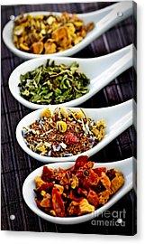 Herbal Teas Acrylic Print by Elena Elisseeva