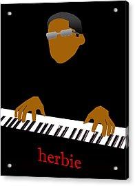 Herbie Hancock Acrylic Print by Victor Bailey