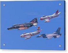 Heritage Flight Acrylic Print by Allan Levin