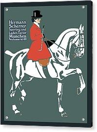Hermann Scherrer Acrylic Print by Gary Grayson