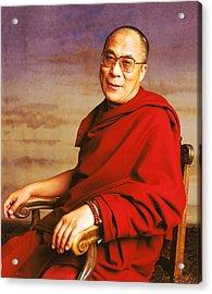 H.h. Dalai Lama Acrylic Print