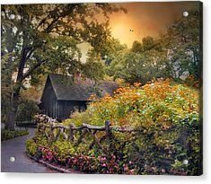 Acrylic Print featuring the photograph Hidden Charm by Jessica Jenney