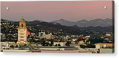 High Angle View Of A City, Beverly Acrylic Print