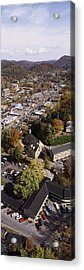 High Angle View Of A City, Gatlinburg Acrylic Print by Panoramic Images