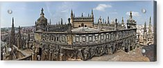 High Angle View Of The Seville Acrylic Print by Panoramic Images