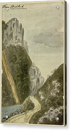High Tor Acrylic Print by British Library