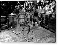 High Wheel 'penny-farthing' Bike Acrylic Print