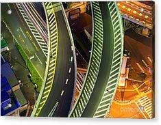 Highway Acrylic Print by Fototrav Print