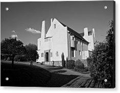 Hill House By Charles Rennie Mackintosh Acrylic Print