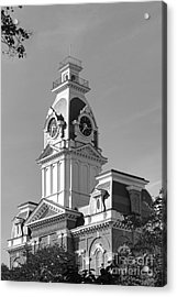 Hillsdale College Central Hall Acrylic Print by University Icons