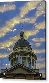 Historic Auburn Courthouse Acrylic Print