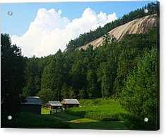 Historic Mountain Homestead Acrylic Print