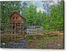 Historic Rikard's Mill In Virginia Acrylic Print by Mountain Dreams