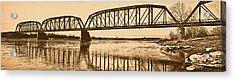 Historical Kinsey Bridge Acrylic Print by Leland D Howard