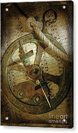 Historical Navigation Acrylic Print by Bernard Jaubert
