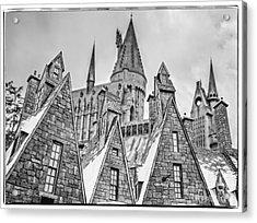 Postcard From Hogsmeade Acrylic Print by Edward Fielding