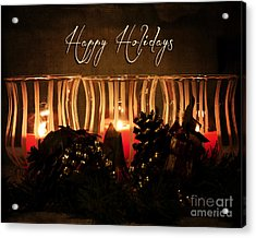 Holiday Glow Acrylic Print