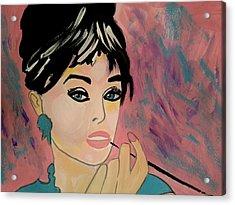 Audrey Hepburn - Holly  Acrylic Print