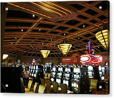 Hollywood Casino At Charles Town Races - 12127 Acrylic Print by DC Photographer