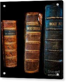 Holy Bibles Acrylic Print