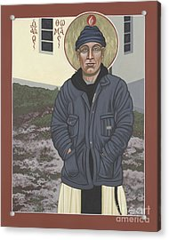 Holy World Evangelist Thomas Merton 267 Acrylic Print