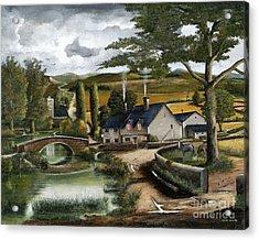 Home Farm Acrylic Print