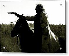 Horse And Rider Acrylic Print
