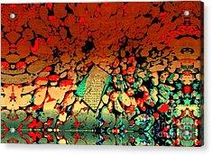 Hot Rocks Acrylic Print