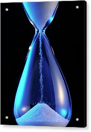 Hourglass Acrylic Print by Sheila Terry/science Photo Library
