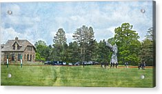 Hrh Prince Harry And Greenwich Polo Club Acrylic Print