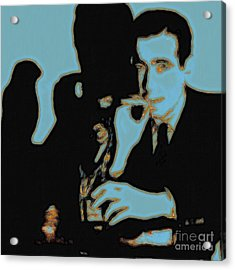 Humphrey Bogart And The Maltese Falcon 20130323m88 Square Acrylic Print by Wingsdomain Art and Photography