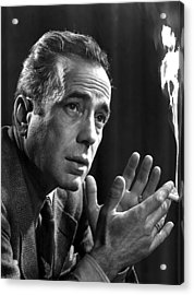 Humphrey Bogart Portrait 2 Karsh Photo Circa 1954-2014 Acrylic Print