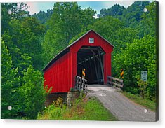 Hune Covered Bridge Acrylic Print
