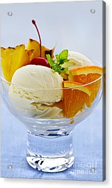 Ice Cream Acrylic Print by Elena Elisseeva