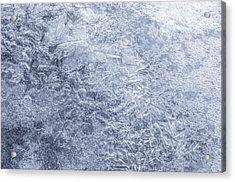 Ice On Minnehaha Creek 1 Acrylic Print by Jim Hughes