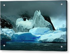 Acrylic Print featuring the photograph Iceberg by Amanda Stadther