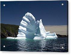 Acrylic Print featuring the photograph Iceberg by Liz Leyden