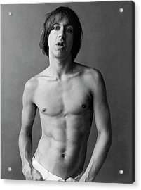 Iggy Pop Shirtless Acrylic Print
