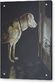 I'll Be Waiting. Acrylic Print by Mary Jo Jung