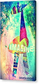 Imagine Acrylic Print by Currie Silver