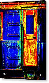 Impressionistic Photo Paint Gs 017 Acrylic Print