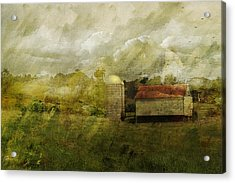 In The Distance Acrylic Print by Kathy Jennings